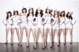 韓国の美脚美女9人組グループ少女時代