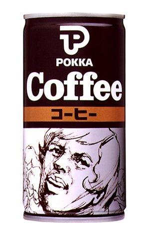 復刻缶の元になった、『ポッカコーヒーオリジナル』の4代目缶(1982年〜)