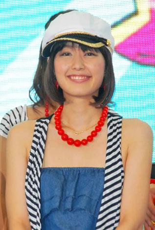 サムネイル 『お台場合衆国2010 〜笑うBayには福きたる!!〜』の制作発表会見に出席した中村仁美アナウンサー