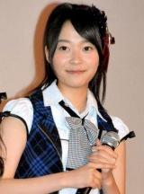 映画『告白」』大ヒット御礼舞台あいさつに登壇したAKB48の指原莉乃 (C)ORICON DD inc.