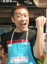 『佐賀名物 はなわのカルチャー焼き本舗』がオープン、はなわが会見で意気込み (C)ORICON DD inc.