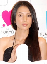 ラジオドラマ『LOVE=Platinum 恋愛パズル』のお披露目会見に出席した芦名星 (C)ORICON DD inc.