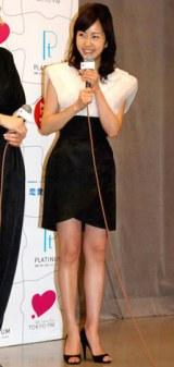 ラジオドラマ『LOVE=Platinum 恋愛パズル』のお披露目会見に出席した木南晴夏 (C)ORICON DD inc.