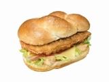 7月16日より期間限定販売される新メニュー『チキンバーガー オーロラ』