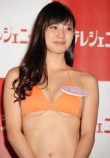 『日テレジェニック2010』に選ばれた滝川綾 (C)ORICON DD inc.