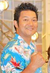 アニマックスの夏の特別番組『ボイスパワー2010 〜あなたに届け!あの声、あの歌、あのセリフ〜』の製作発表記者会見に出席した山口智充
