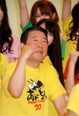 日本テレビ系『24時間テレビ33「愛は地球を救う」』制作発表会見に出席した、総合司会の徳光和夫 (C)ORICON DD inc.