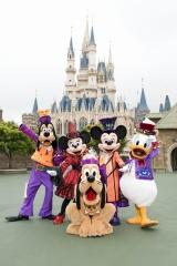 オリエンタルランドが展開するハロウィンイベント『ディズニー・ハロウィーン』のイメージ (C)Disney