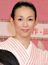 2011年度の大河ドラマで女優復帰する鈴木保奈美 (C)ORICON DD inc.