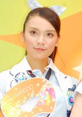 『Bamboo×七夕のキセキ キャンペーン』の告知イベントに出席したAKB48・秋元才加
