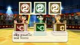 クイズに答える(左から)二宮和也、松本潤、相葉雅紀のMii/『Wii Party』新CM