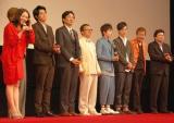 映画『踊る大捜査線 THE MOVIE3 ヤツらを解放せよ!』完成披露舞台あいさつの模様 (C)ORICON DD inc.