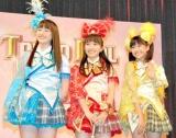 史上初のアイドルフェス『TOKYO IDOL FESTIVAL 2010』制作記者発表会見に出席したももいろクローバーのメンバー (C)ORICON DD inc.