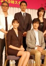 (上段左から)大杉漣、平山浩行、りょう (下段左から)杏、堺雅人 (C)ORICON DD inc.