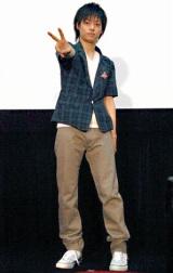 著書『障害役者〜走れなくても、セリフを忘れても〜』の発売記念イベントを行ったD-BOYSの柳浩太郎 (C)ORICON DD inc.