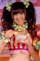 "AKB48発の""納豆ユニット""『ナットウエンジェルZ』の佐藤すみれ (C)ORICON DD inc."