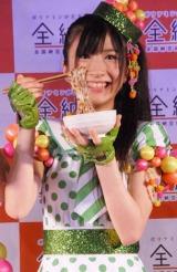 "AKB48発の""納豆ユニット""『ナットウエンジェルZ』の石田晴香 (C)ORICON DD inc."