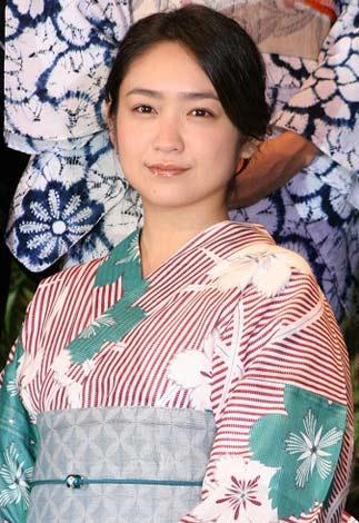 映画『必死剣鳥刺し』完成披露会見に出席した池脇千鶴 (C)ORICON DD inc.