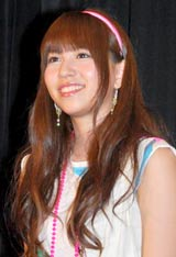 映画『NECK』の女子限定試写会に出席したAKB48・河西智美