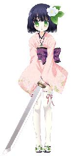 まいか(CV:名塚佳織)/広島出身・年齢不詳。お酒の妖精の一人。内気でおとなしくて泣き虫。田舎者と馬鹿にされると鬼のように怖くなる。(C)たぢまよしかづ/飛夢