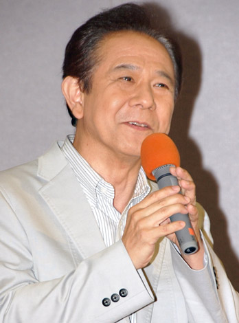 NHKドラマ『日本のいちばん長い夏』の試写会に参加した立川らく朝 (C)ORICON DD inc.