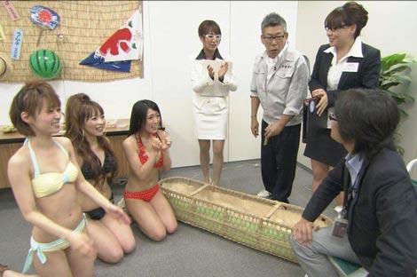 サムネイル バラエティ番組『すっぽんの女たち』(テレビ朝日)でのSDN48のアピールの模様