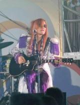 『お台場合衆国 2010 開国前夜祭』で初ライブを行ったロックバンド・FANTAのTakamiy (C)ORICON DD inc.