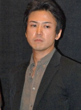 映画『キャタピラー』舞台あいさつ&トークショーに出席した大西信満 (C)ORICON DD inc.