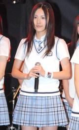 『SKE48学園■祭 バンドしちゃおうLIVE!!』への意気込みを語った松井珠理奈  ※■はハートマーク (C)ORICON DD inc.