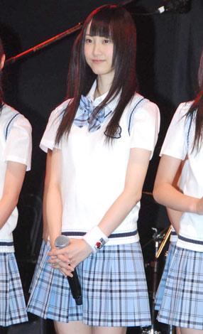 『SKE48学園■祭 バンドしちゃおうLIVE!!』への意気込みを語った松井玲奈 ※■はハートマーク (C)ORICON DD inc.