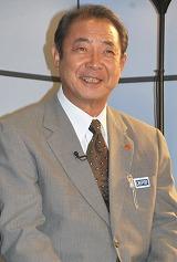 ドラマ『警視庁継続捜査班』(テレビ朝日系)の記者会見に出席した平泉成 (C)ORICON DD inc.