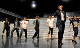 舞台『宝塚BOYS』の公開稽古で行われた瀬奈じゅんによる演技指導の模様 (C)ORICON DD inc.