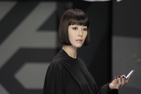 サムネイル 木村カエラが真っ黒な姿で登場する『KATE』新CM