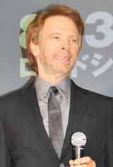 映画『魔法使いの弟子』のスペシャルプレビューイベントに出席したプロデューサーのジェリー・ブラッカイマー