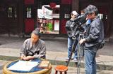 "NHK大河ドラマ『龍馬伝』第3部より髪型を変え、""ビジネスマン龍馬""を演出した主演の福山雅治"