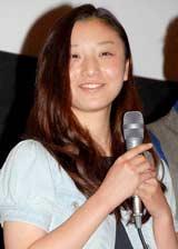 映画『ヘヴンズ ストーリー』のプレミア上映会に出席した主演の寉岡萌希