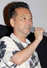 映画『ヘヴンズ ストーリー』のプレミア上映会に出席した主演の瀬々敬久監督