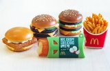 マクドナルド店舗で26日から展開される『「フードストラップ」キャンペーン』のアイテム