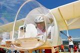 『第33回鳥人間コンテスト選手権大会』の滑走機部門にパイロットとして参戦した宮根誠司