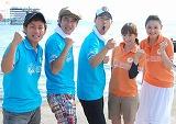 司会を務めた(左から)ココリコ、東野幸治、藤本美貴、北川弘美 (C)ORICON DD inc.