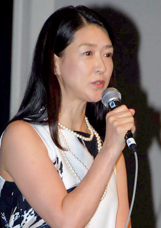 国際協力プロジェクト『なんとかしなきゃ!プロジェクト』の記者発表会に出席した紺野美沙子 (C)ORICON DD inc.