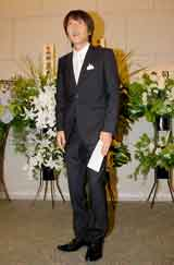 市川海老蔵&小林麻央夫妻の結婚披露宴に参列した千原ジュニア (C)ORICON DD inc.