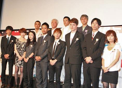 """『第32回ぴあフィルムフェスティバル』の""""PFFアワード2010""""授賞式の模様 (C)ORICON DD inc."""