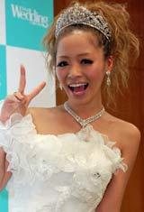 『Tokyo Wedding Collection 2010 Autumn&Winter』にゲスト出演し、片思い中の相手を報告した小森純 (C)ORICON DD inc.