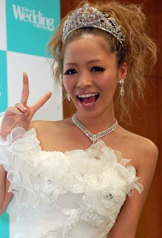 サムネイル 『Tokyo Wedding Collection 2010 Autumn&Winter』にゲスト出演し、片思い中の相手を報告した小森純 (C)ORICON DD inc.