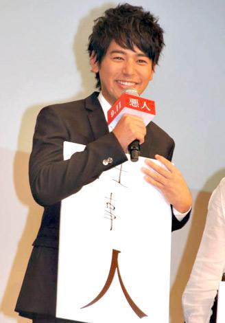 映画『悪人』のジャパンプレミアに出席した妻夫木聡 (C)ORICON DD inc.