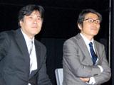 会見に出席した(左から)チーフディレクター・柴田岳志氏、チーフプロデューサー・磯智明氏 (C)ORICON DD inc.