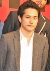 主演映画『GANTZ』の製作報告会見に出席した松山ケンイチ (C)ORICON DD inc.