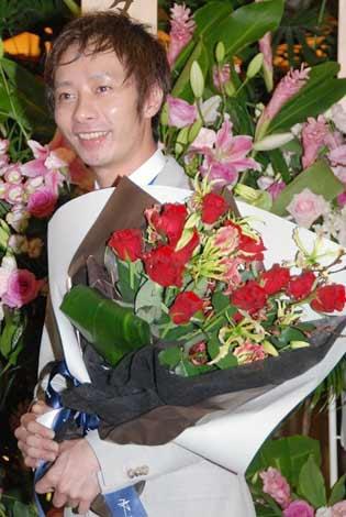 サムネイル 石田純一&東尾理子夫妻の結婚披露宴に出席したいしだ壱成 (C)ORICON DD inc.