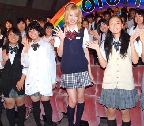 声優を務めた映画『カラフル』の特別授業イベントで160人の中高生と交流した南明奈 (C)ORICON DD inc.
